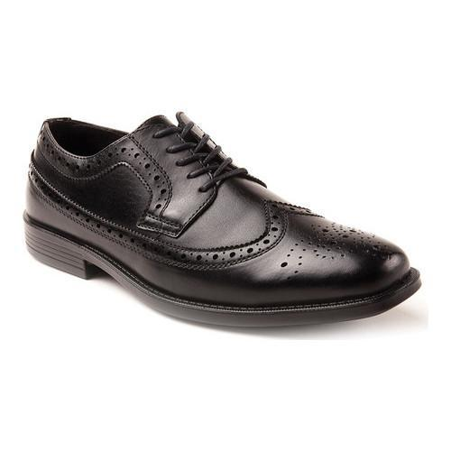 Men's Deer Stags Taylor Oxford Black Simulated Leather