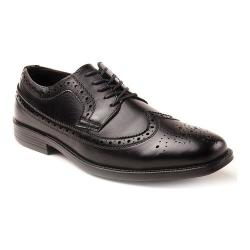 Men's Deer Stags Taylor Oxford Black Simulated Leather - Thumbnail 0