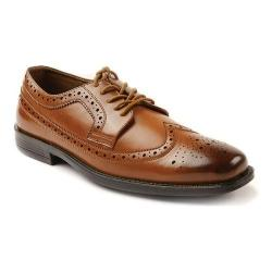 Men's Deer Stags Taylor Oxford Luggage Simulated Leather
