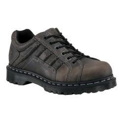 Men's Dr. Martens Keith 6 Eye Padded Collar Shoe Black Greenland