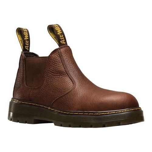 ... Men's Shoes; /; Men's Boots. Men's Dr. Martens Rivet Steel Toe  Chelsea Boot Teak Pitstop Full