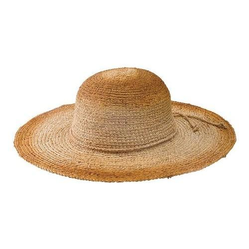 9169bcc96c6440 Shop Women's San Diego Hat Company Raffia Large Brim Hat RHL13C Natural - Free  Shipping On Orders Over $45 - Overstock - 19626652