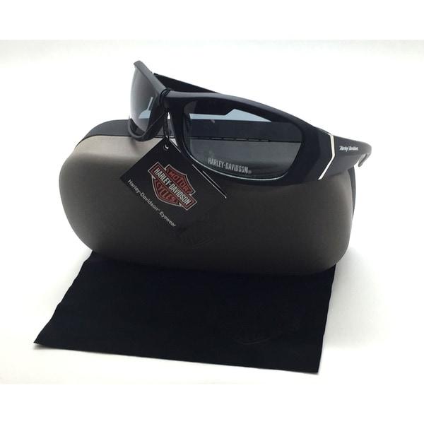 ccde129544b7c Shop Harley-Davidson Hdv 004 Blk-3 Full-rim Mens Wrap Sunglasses ...
