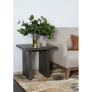 Avoca Reclaimed Pine End Table by Kosas Home