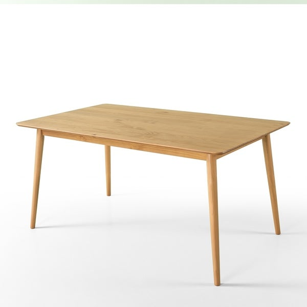 Shop Priage By Zinus Mid Century Large Wood Dining Table