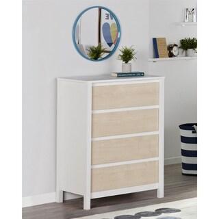 Novogratz Addision Natural 4 Drawer Dresser