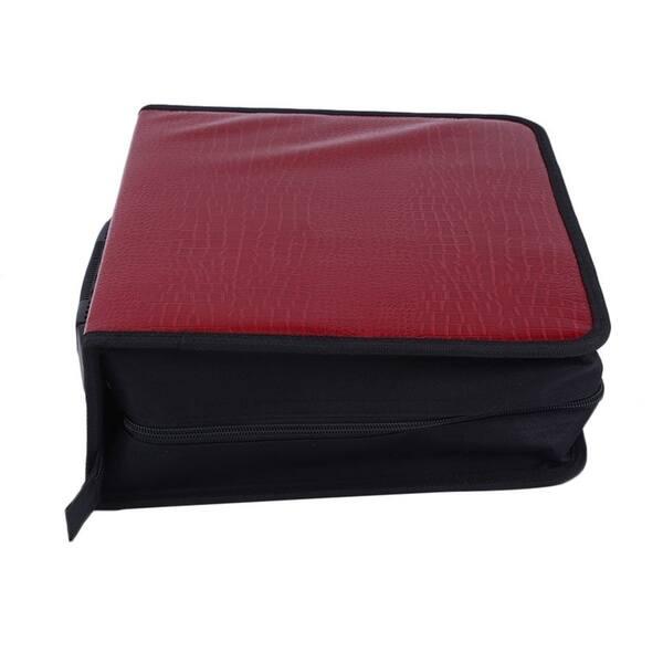 Capacity 400 Disc Cd Dvd Storage Bag