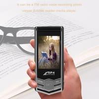 32GB HD 1.8inch LCD Screen Portable MP4 MP3 Video Music Player FM Radio Record - Black & Silver