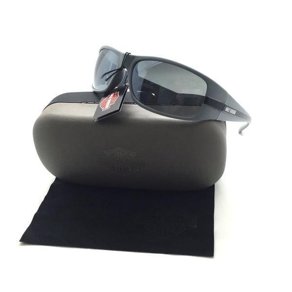 Shop Harley-Davidson Men's Striped H-D Sunglasses, Matte