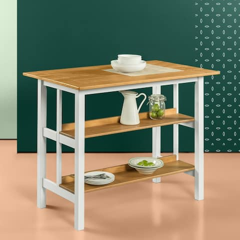 Priage by Zinus FarmHouse Kitchen Island