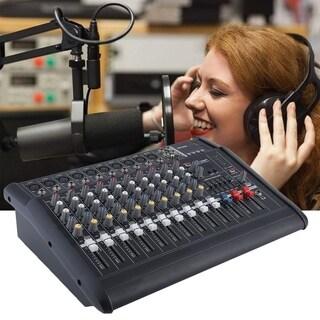 Multifunctional Powered Mixer 10 Channels Amplifier Mixer Audio Mixer Device