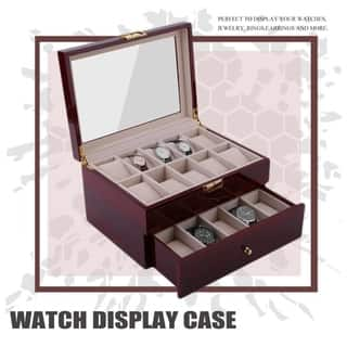 3a4b7a7083 Buy Watch Boxes Online at Overstock