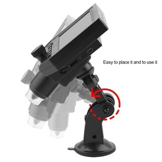 4.3inch HD OLED 3.6MP LCD 1080P Magnifier Amplifier Digital Microscope G600