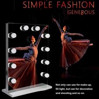 Large Stage Makeup Lighted Vanity Mirror