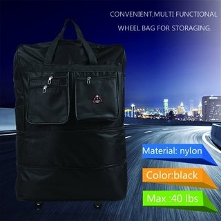 Large Capacity Unisex Outdoor Travel Suitcase Carry-ons Luggage Wheel Bag
