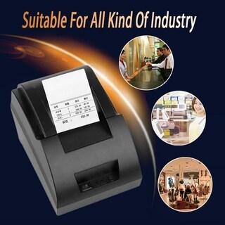 USB Mini 58mm POS Thermal Dot Receipt Bill Printer Set Roll Paper POS-5890C