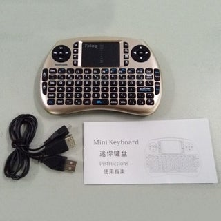 21S Mini 2.4G Wireless Computer PC Hand Held Portable Keyboard 3.3V