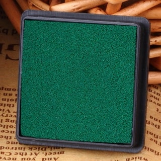 Mini DIY Craft Oil Based Ink Pad Print For Rubber Stamps Paper Wood