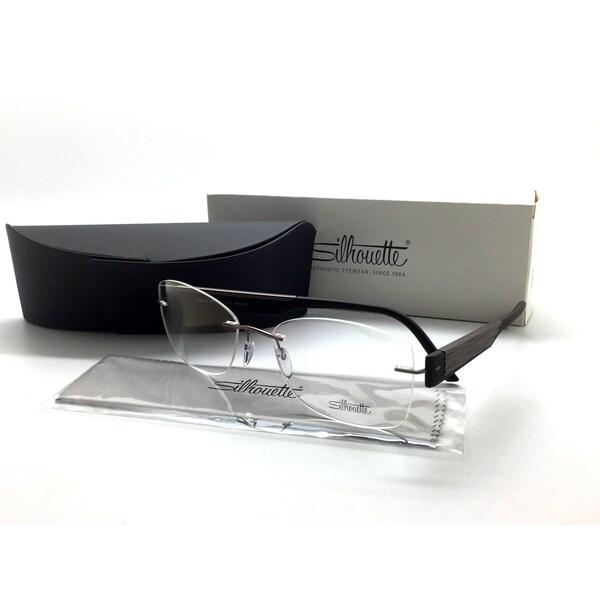 80315ab3d7 SILHOUETTE Rimless Brown 4448 40 6055 Eyeglasses Frames 55-17-140 AUSTRIA