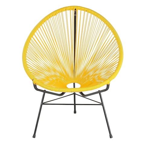 Handmade Acapulco Papasan Basket Lounge Chair