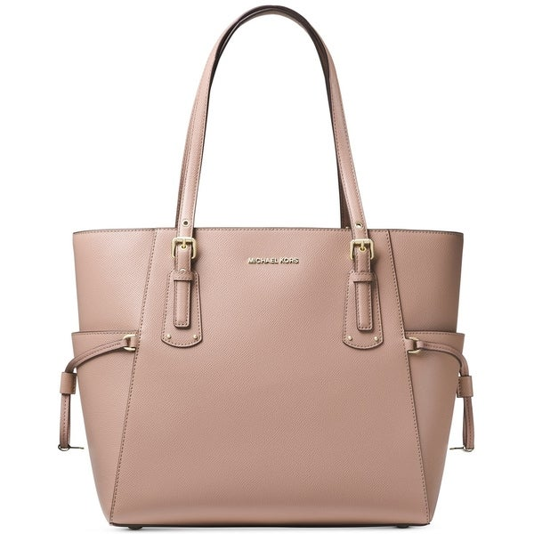 8584a4d46ef2 Shop MICHAEL Michael Kors Voyager East West Tote Fawn - Free ...