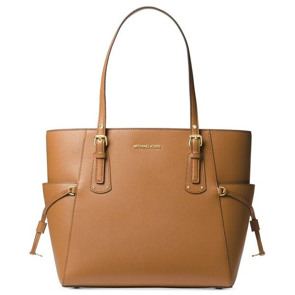 53750b5ac273 Shop MICHAEL Michael Kors Voyager East West Tote Acorn - On Sale ...