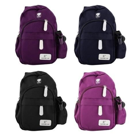 Durable Nylon Crossbody Chest Bag Men Women Travel Backpack Shoulder Pack