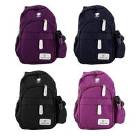 Durable Nylon Crossbody Chest Bag Travel Backpack Shoulder Pack