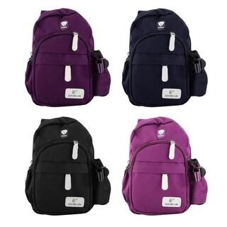Durable Nylon Crossbody Chest Bag Travel Backpack Shoulder Pack
