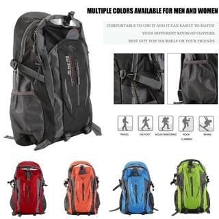 Waterproof Cycling Backpack Outdoor Camping Shoulder Bag