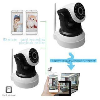 Wireless Wifi 720P HD H.264 P2P 1MP IP Network IR Security Camera Cam P/T