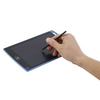 8.5inch LCD Writer Tablet Writting Drawing Pad Paperless Memo Message Board - Blue