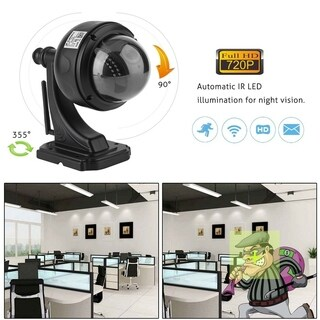 720P HD Outdoor Indoor Wireless Wifi IR-CutHome Security IP Dome Camera