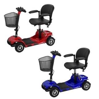 4 Wheel Travel Transportable Scooter Disabled Elderly Kid Scooter Folding Bike
