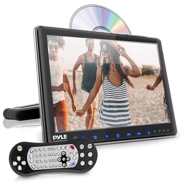 "Pyle PLHRDVD904 Car Headrest Mount DVD Player,9.4""Display Monitor"