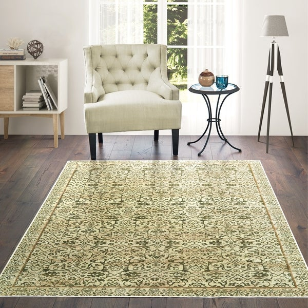 Shop Westfield Home Lelaliah Elyon Green Faux Silk Accent