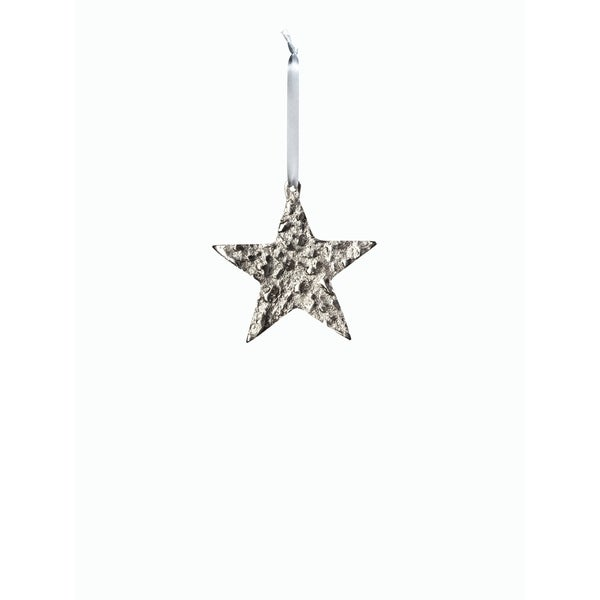 "4"" Tall Aluminum Small Christmas Star Ornament, Silver (Set of 6). Opens flyout."