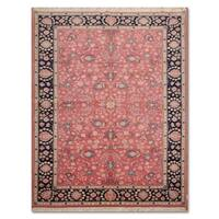 Wool Handmade Traditional Kashan Persian Oriental Area Rug - 5'10 x 8'8