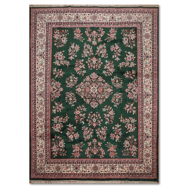 100 Wool Persian Area Rug: Shop Romanian Sarouk Hand-Knotted 100% Wool Persian