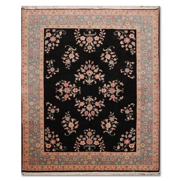 100 Wool Persian Area Rug: Shop Sarouk Romanian Hand-Knotted 100% Wool Persian