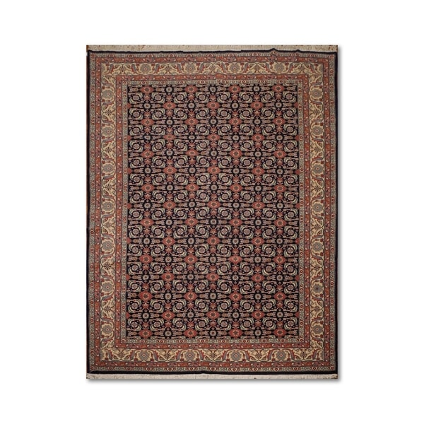 Hand Knotted Persian Wool Area Rug 5 10: Shop Faraghan Farehan Romanian Hand-Knotted 100% Wool