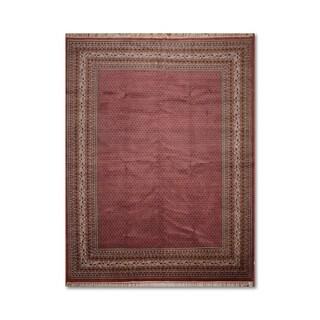 """Super Fine Bidjar Romanian Hand-Knotted 100% Wool Persian Oriental Area Rug (10'2""""x13'8"""") - Rust/Beige - 10'2"""" x 13'8"""""""