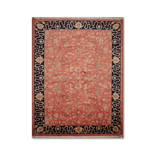 100 Wool Persian Area Rug: Shop Traditional Persian Pictorial Hand-Knotted 100% Wool
