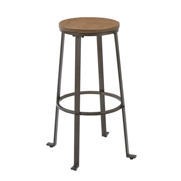Excellent Shop Industrial Rugged 30 Counter Bar Stool Height Rustic Pabps2019 Chair Design Images Pabps2019Com