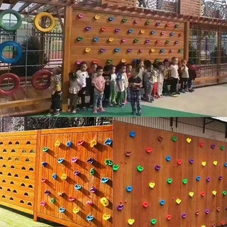 20PCS Indoor Outdoor Climbing Holds Rock Wall Stones Holds Grip For Kid