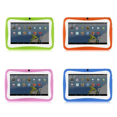 "7"" Kids Tablet PC 1.5GHZ Quad Core 8GB WIFI Android Tablet 1024x600 Screen"