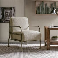 INK+IVY Presley Cream Accent Chair