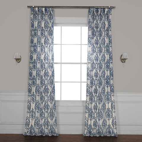 Buy Blue, Ikat Curtains & Drapes Online at Overstock | Our