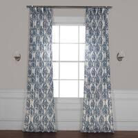 Exclusive Fabrics Fresco Printed Sheer Curtain