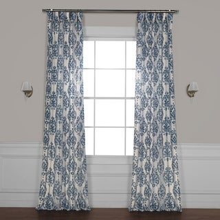 Exclusive Fabrics Fresco Printed Sheer Curtain